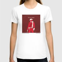 dentist T-shirts featuring No184 My Django Unchained minimal movie poster by Chungkong