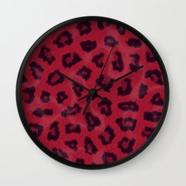 Leopardberry Wall Clock