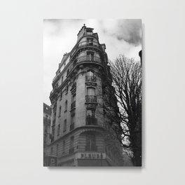 Flowers in Paris Metal Print