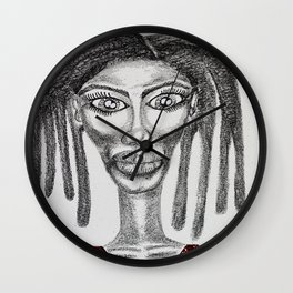 Miss Yetunde Wall Clock