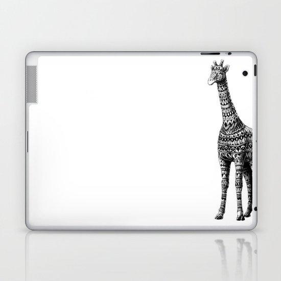 Ornate Giraffe Laptop & iPad Skin