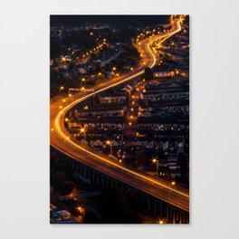 The Lights will Lead You Canvas Print