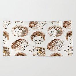 Hedgehogs Beach Towel