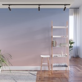 Ombre | Serenity and Rose Quartz | Pantone Colors of the Year 2016 Wall Mural