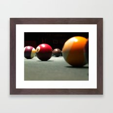 Behind It  Framed Art Print