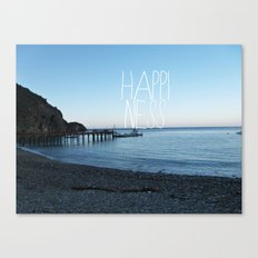 HAPPI-NESS Canvas Print