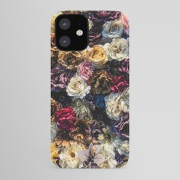 Flower Wall // Full Color Floral Accent Background Jaw Dropping Decoration iPhone Case