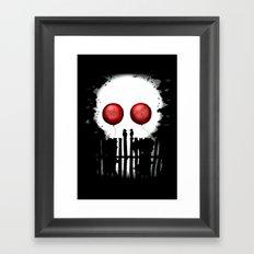 Skull Kids Framed Art Print