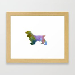 Cocker Spaniel Framed Art Print