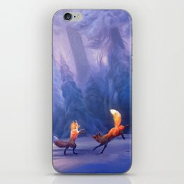 Fox play iPhone Skin