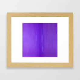 Abstract Purples Framed Art Print