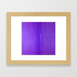 Abstract Purples Framed Art Print