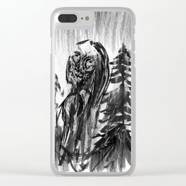 Ghost Series #2 Clear iPhone Case