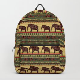 African motifs. Backpack