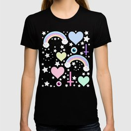 Pastel Goth Collage T-shirt