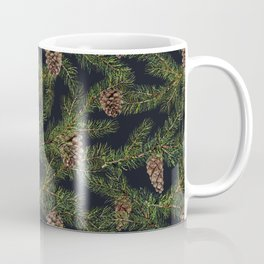 Christmas tree with pine cone Coffee Mug
