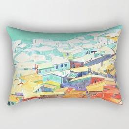 Summer in Malcesine Rectangular Pillow