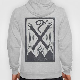 Banishment (White) Hoody