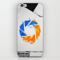 aperture iPhone & iPod Skins featuring Aperture Vandal by Toronto Sol