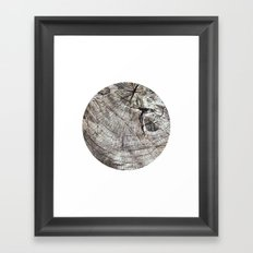 Planetary Bodies - Tree Framed Art Print
