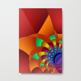 chaotic colors -2- Metal Print