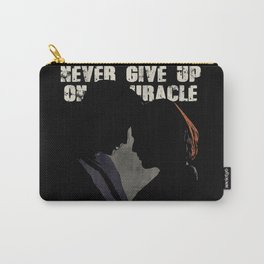 The X-Files - Never Give Up On A Miracle Carry-All Pouch