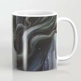 Mermaid's Reverie // Woman Whale Ocean Goddess Sea Nymph Stars Water Empower Feminine Spirit Nature Coffee Mug