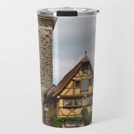 Rothenburg ob der Tauber Impression Travel Mug