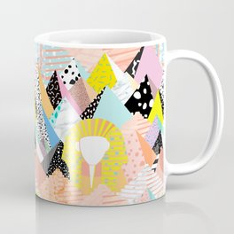Postmodern Pyramids Coffee Mug