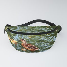 Duck in autumn Fanny Pack