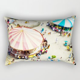 Coney Island Rectangular Pillow