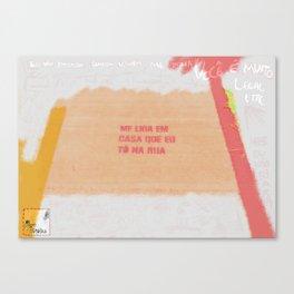 Farinha do Desprezo Canvas Print