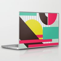 geo Laptop & iPad Skins featuring GEO by LNLONDON
