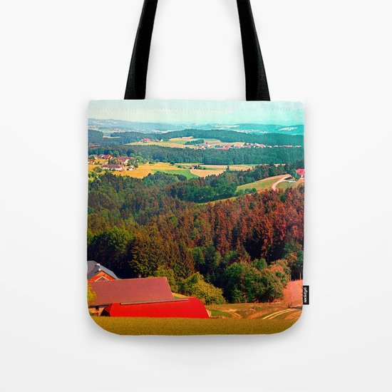 Spring, hot sun, and lots of scenery Tote Bag