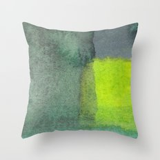 Water and color 12 Throw Pillow