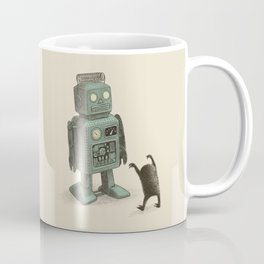 Robot Vs Alien Coffee Mug