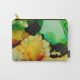 Emerald and Amber Carry-All Pouch
