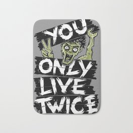 You Only Live Twice Bath Mat