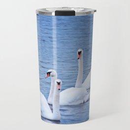 A Trio of Swans Travel Mug