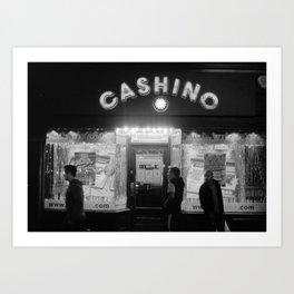 cashino Art Print