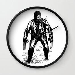 Black Oldman Logan Wall Clock