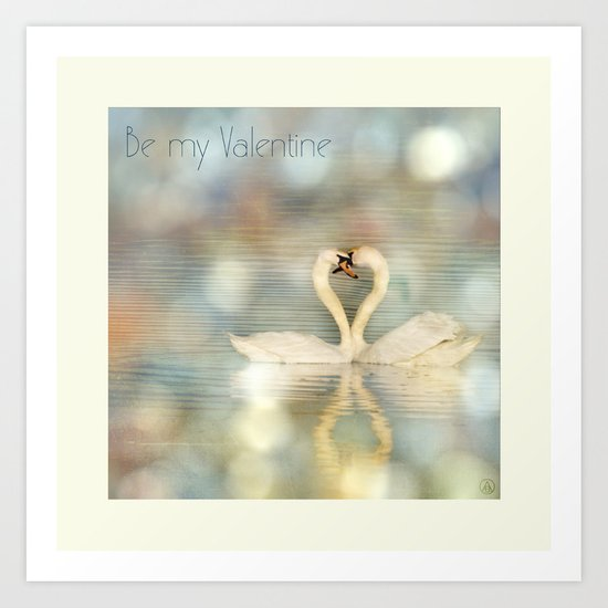 Be My Valentine 02 Art Print
