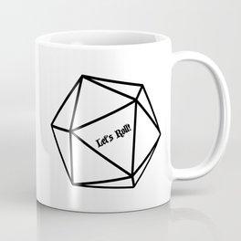 Let's Roll! D20 Coffee Mug