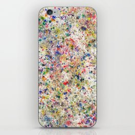 Abstract Artwork Colourful #7 iPhone Skin