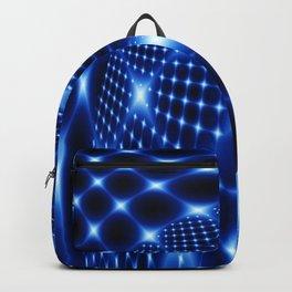 Glowing net fractal Backpack