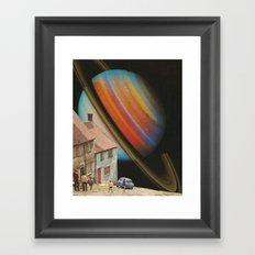Cosmic Village Framed Art Print