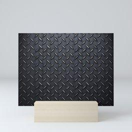 Checker Plate detail Mini Art Print