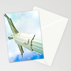 With faith everything is power. Stationery Cards