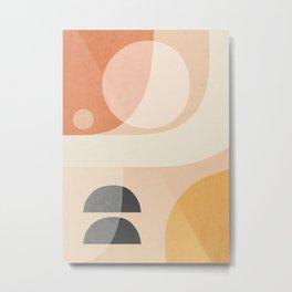 Abstract Art / Shapes 26 Metal Print