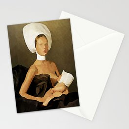 Milky Dreams - Kubistika by Boris Draschoff Stationery Cards